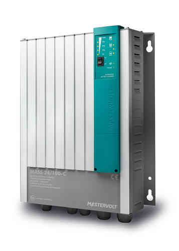 Battery Charger Mass 24/100 incl. DNV & Lloyds certification